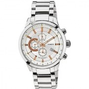 Timex Analogue White Dial Men Watch (TW000Y407)