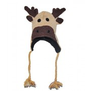 Elk knitted Animal Hat Child - 40 Animals available for child/adult