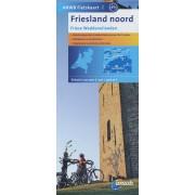 Fietskaart 02 Friesland Noord - Friese Waddeneilanden | ANWB Media