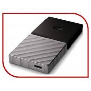 Жесткий диск Western Digital My Passport USB 3.1 256Gb Black-Silver WDBKVX2560PSL-WESN