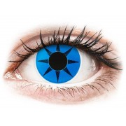 Blue Star contact lenses - ColourVue Crazy