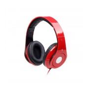 Casti stereo Gembird Detroit MHS-DTW-R cu microfon, pliabile, rosu-negru