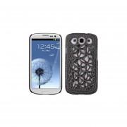 Protector Samsung Galaxy SIII Telaraña Negro Mate