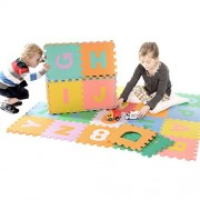 Zoeshare 36 Piece Kids Puzzle Play Mat with EVA Foam, Alphabet and Numbers