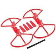 Afneembare Propeller beschermende Guard met landingsgestel voor DJI Spark(Red)