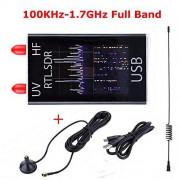 SZXHT-0411CEAA95C9D713 N/A 100KHz-1.7GHz Banda completa UV HF RTL-SDR receptor sintonizador USB/R820T+8232 radio de jamón