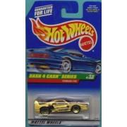 Hot Wheels - 1998 - Dash 4 Cash Series - Ferrari F40 - Gold Metallic Paint - 2 of 4 - Collector #722
