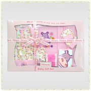 Wonder Child - Set cadou 12 piese Hippo lila