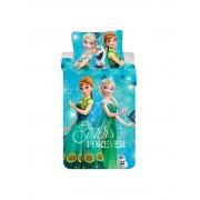 Lenjerie de pat pentru copii Disney Frozen, 84-BEDB-04FR-SG, 140 x 200 cm