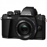 Olympus OM-D E-M10 Mark II Aparat Foto Mirrorless 16MP MFT Full HD Kit cu Obiectiv EZ-M 14-42mm F3.5-5.6 Negru