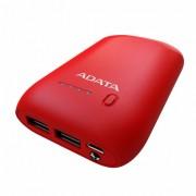 Baterie Externa A-Data P10050, 10050mAh, Red