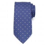 Férfi klasszikus nyakkendő mikroszálas (minta 1274) 7979 -ban kék szín