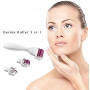 3 in 1 Derma Roller Kit Micro Naalden | 1200/1.5mm, 600/1.0mm, 180/0.5mm | Gezichts- en huidverzorging | 3 in 1 Roze