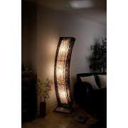 1a Direktimport XXL Stehlampe Designerlampe Lampe mit Rattan