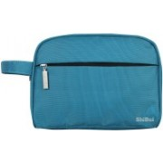 SHIBUI Airlab Wash Bag for Accessories, Shampoo, Cosmetic, Healthcare Bag with Handle (T Blue) Travel Toiletry Kit(Blue)