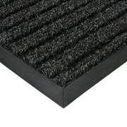 Černá textilní zátěžová čistící rohož Shakira - 300 x 100 x 1,6 cm (77221210) FLOMAT