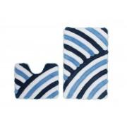Obsession In Style Badmat Blauw Set van 2 U-Vorm