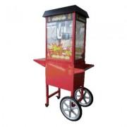 Macchina Pop Corn automatica professionale con carrello