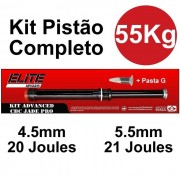 Kit Pistão Mola Gas Ram 55kg Cbc Jade Pro - Elite Airguns