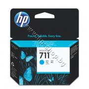 Мастило HP 711, Cyan (29 ml), p/n CZ130A - Оригинален HP консуматив - касета с мастило