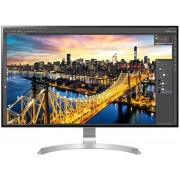 "Monitor IPS LED LG 31.5"" 32UD89-W, Ultra HD (3840 x 2160), FreeSync, HDMI, DisplayPort, USB 3.0, USB Type-C, Boxe, Pivot, 5 ms (Alb/Argintiu)"