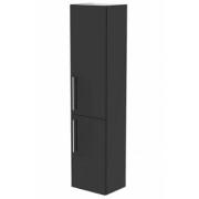 Dulap inalt suspendat, Aquaform Amsterdam, negru, 40x32xH170 cm -0415-202911
