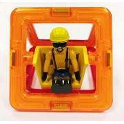 Magformers 715008 Figure Plus Construction Set, 6-Piece