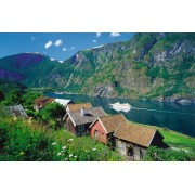 Puzzle Ravensburger - Fiordul Sognefjord, 3.000 piese (17063)