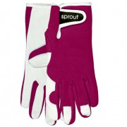 Sprout Gardening Gloves Purple by Annabel Trends