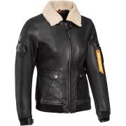 Ixon Havoc Dámská kožená bunda 2XL Černá