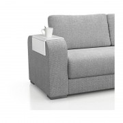 Xenos Dienblad Sofa - 45x24 cm - wit