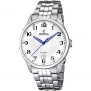 Reloj F20425/1 Plateado Festina Hombre Acero Clasico Festina