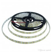 LED szalag , kültéri , 3528 , 120 led/m , 7,2 Watt/m , meleg fehér méteres