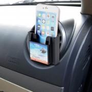 Karew Smart Phone Card Kl-011 Universal Car Mount Holder Cuna De Venteo De Aire (negro)