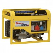 Generator Open Frame Benzina Stager Gg7500-3E+B, 400 V, 6.3 Kw, 4 Timpi