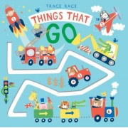 Trace Race: Things That Go, Hardcover