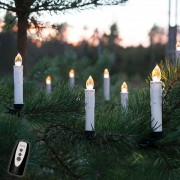 Wireless LED Christmas candles, starter set