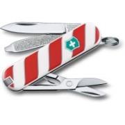 Victorinox 0.6223.L1405B Classic Lolipop 7 Function Multi Utility Swiss Knife(White)