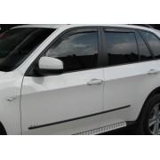 Paravanturi Geam Auto BMW X3 an fabr. 2005 - 2012 ( Marca Heko - set FATA + SPATE )