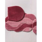 Grund Hänge-WC-Matte ca. 60x60cm Grund rosé