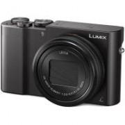 Panasonic Appareil photo numérique compact PANASONIC Lumix DMC-TZ100 Noir