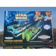 Star Wars Episode I Micro Machines Podracer Launchers with Teemto Pagalies and Gasganos Podracers