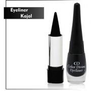Set of 1 Eye liner + 1 Kajal