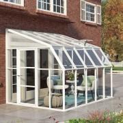 Palram Rion Sun Room - 8ft x 10ft Winter Garden