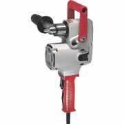 Milwaukee Hole Hawg Corded Electric Drill - 1/2 Inch Chuck, 7.5 Amp, 1,200 RPM, Model 1675-6