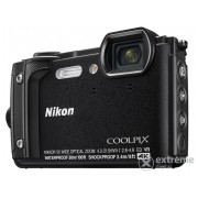 Nikon Coolpix W300 fotoaparat Holiday kit, crna
