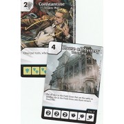 Dc Dice Masters: Trinity War Op Kit 2 Promo Cards: Constantine X1 & House Of Mystery X3