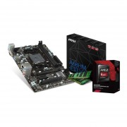 Micro Procesador Amd 3.9 Ghz + Tarjeta Madre MSI A68HM-E33 + Memoria Ram 4GB DDR3