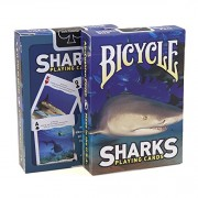Bicycle Sharks Playing Cards (BLUE) Edition Poker Collectible Deck