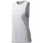 adidas Women's Boxy Melange Tank Top - White - M - White